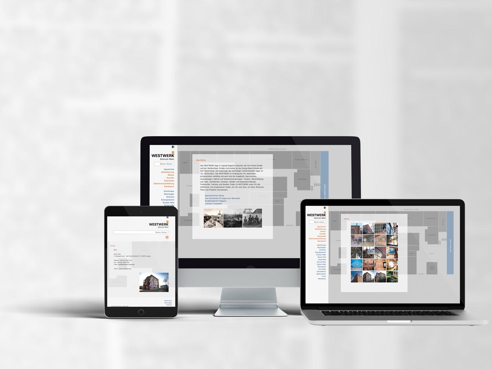 Webdesign, Westwerk-Leipzig