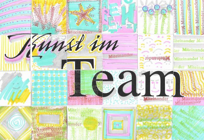 Collage Kunst im Team Vorstellung