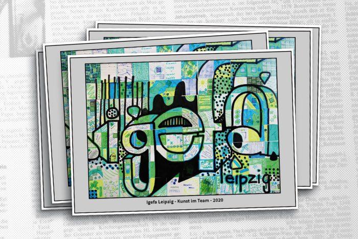 Anwendungsbeispiel KiT Postkarte